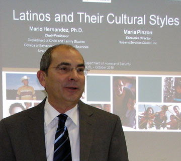 Mario Hernandez Hispanic Heritage Celebration