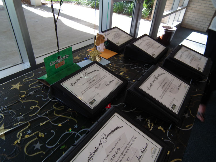USF Learning Academy Certificats