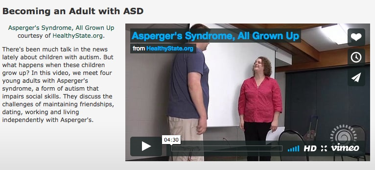 Becoming and Adult with ASD